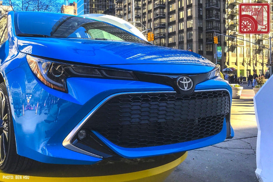 NEWS: The 2019 Corolla will come in manual and hatchback | Japanese
