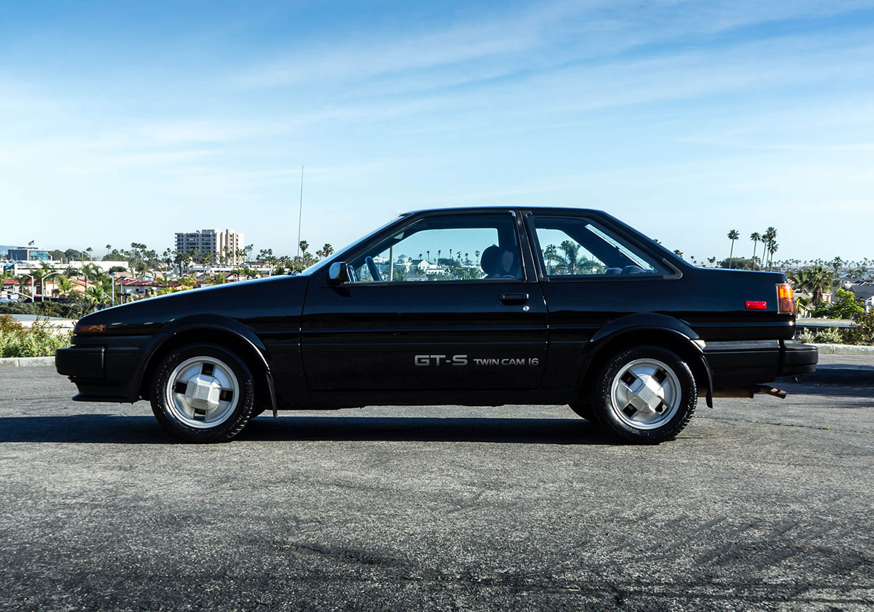 kidney anyone unmolested 1987 toyota corolla ae86 coupe. Black Bedroom Furniture Sets. Home Design Ideas