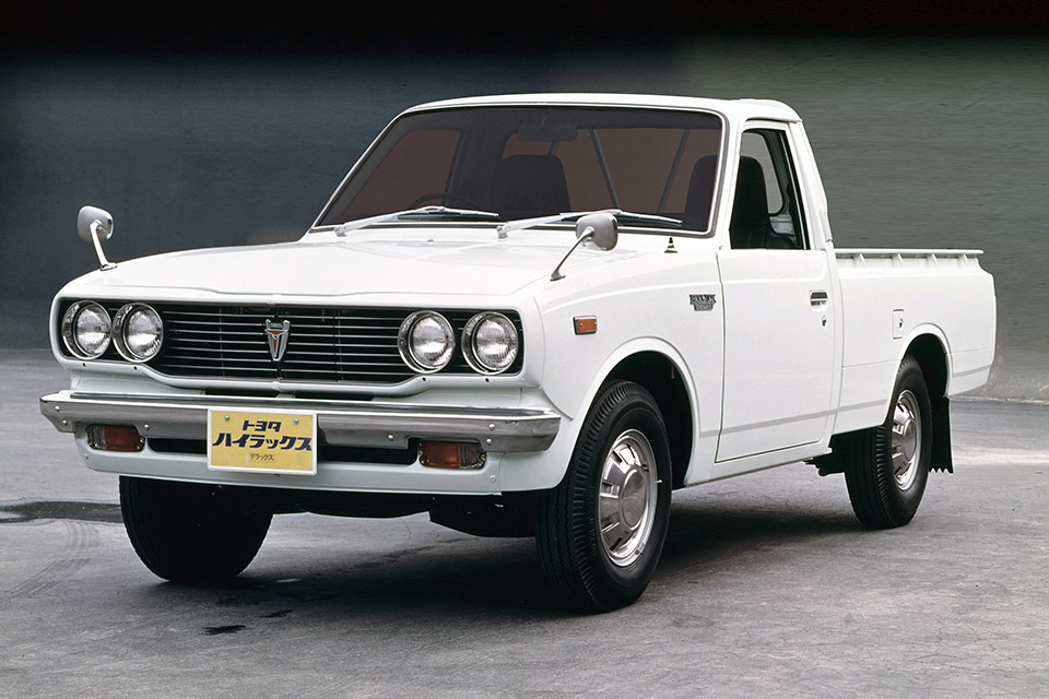 50 Year Club Toyota Hilux Japanese Nostalgic Car