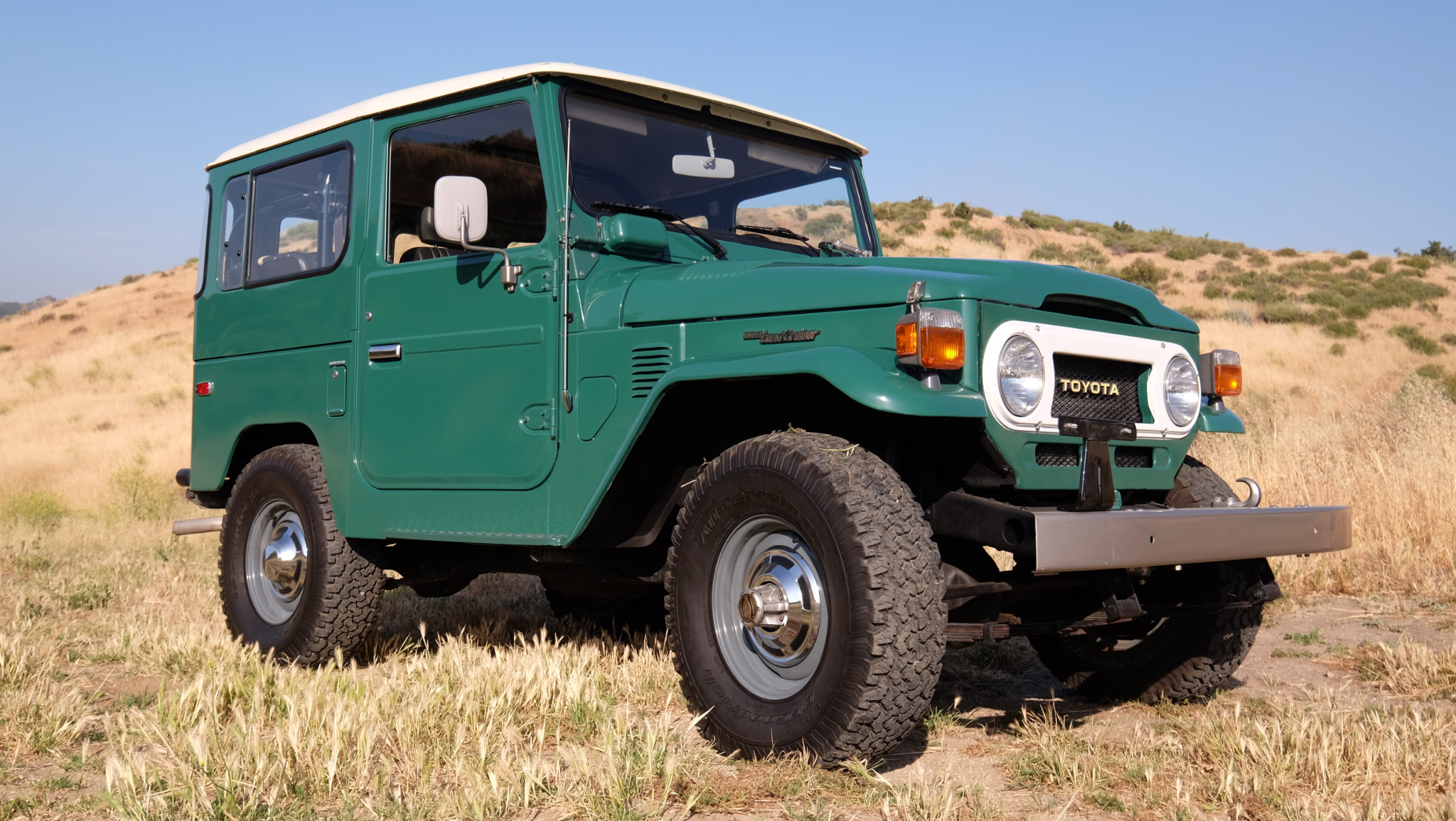 "KIDNEY, ANYONE? ""Absurd condition"" 5k-mile FJ40 Land ..."