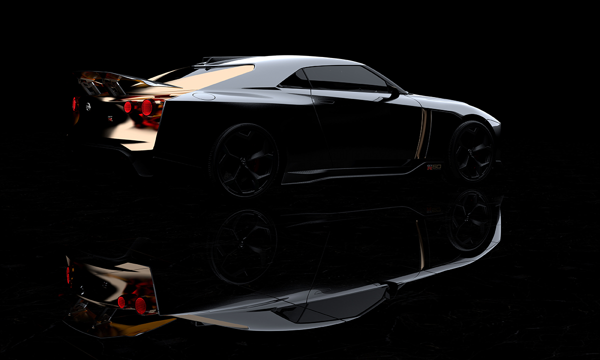 news nissan celebrates 50 years of the gt r with a 710 horsepower golden godzilla japanese. Black Bedroom Furniture Sets. Home Design Ideas