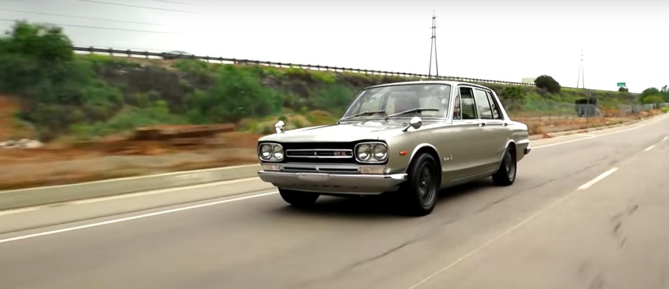 VIDEO: Jay Leno drives a Hakosuka GT-R four-door ...