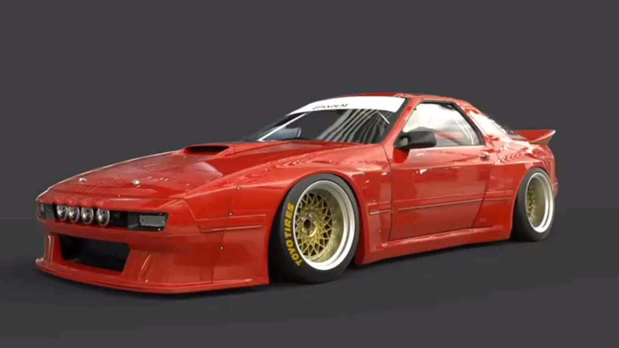 Tra Kyoto Releases Rocket Bunny Pandem Kit For Fc Rx 7