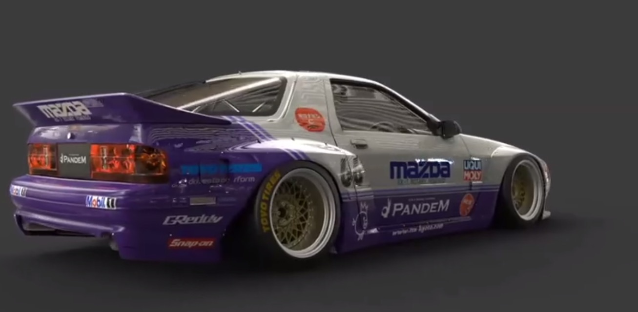 Tra Kyoto Releases Rocket Bunny Pandem Kit For Fc Rx 7 Japanese