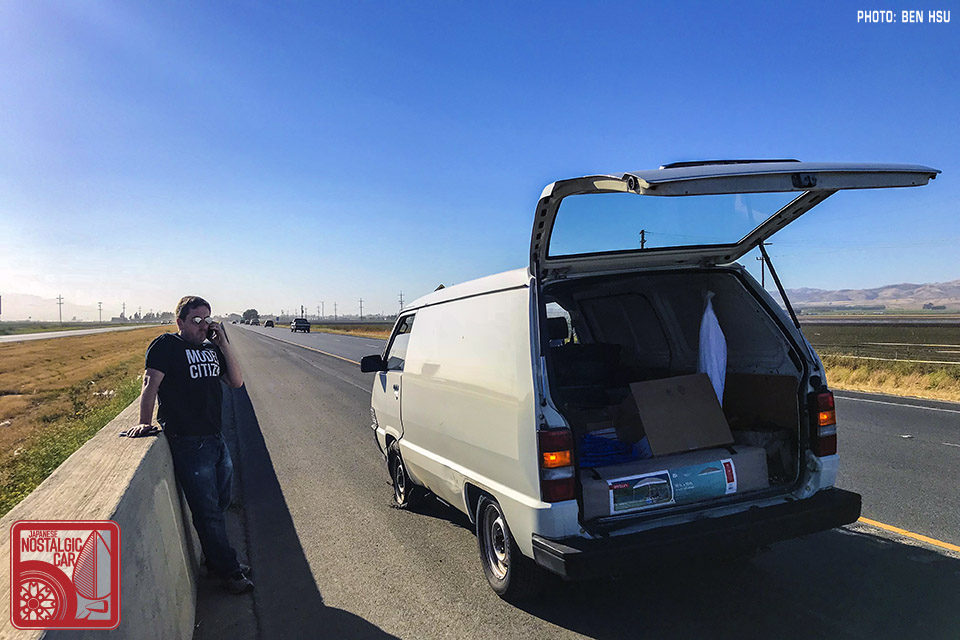 PROJECT DUSTBUS: 800 miles in an untested $50 van   Japanese