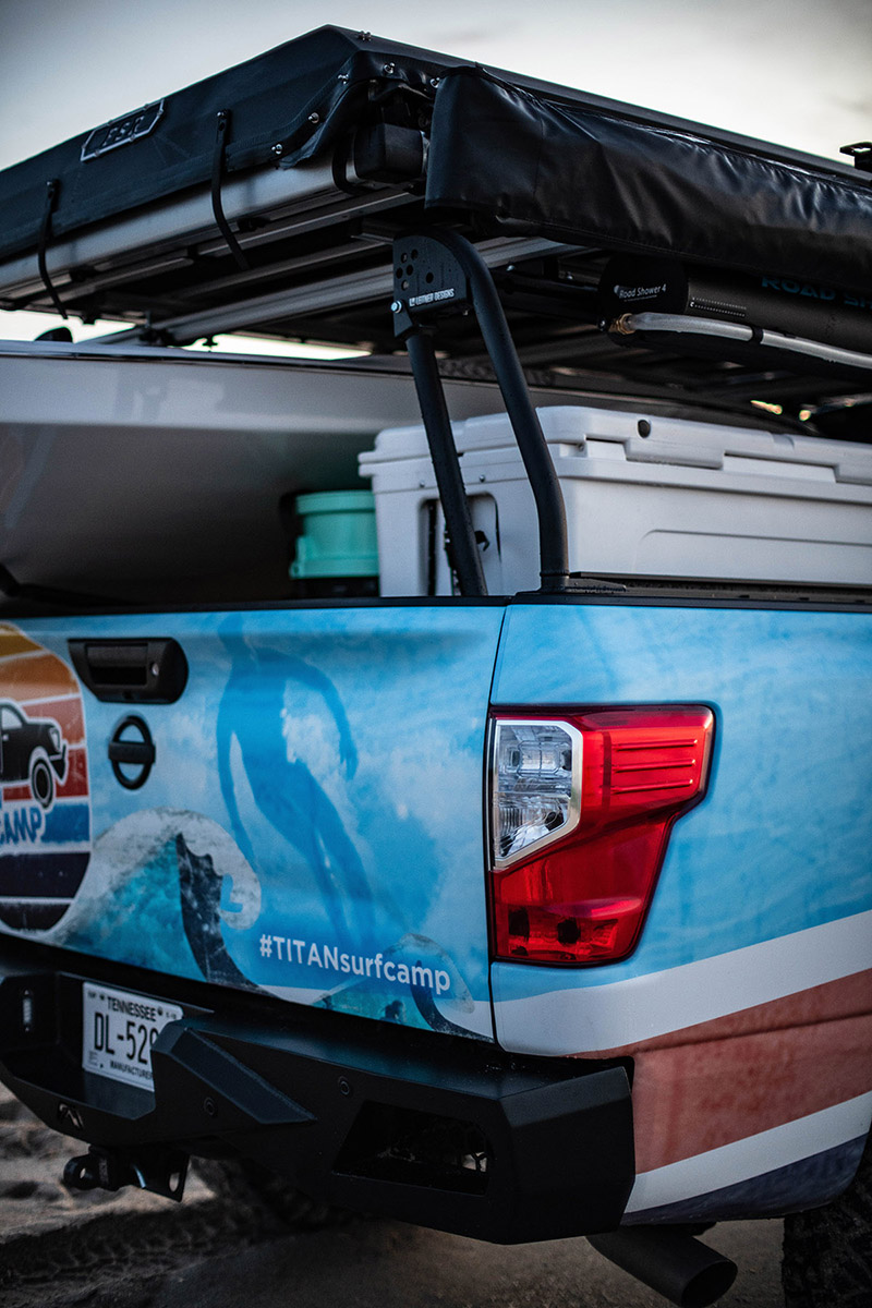 News The Nissan Titan Surfcamp Concept Was Inspired By