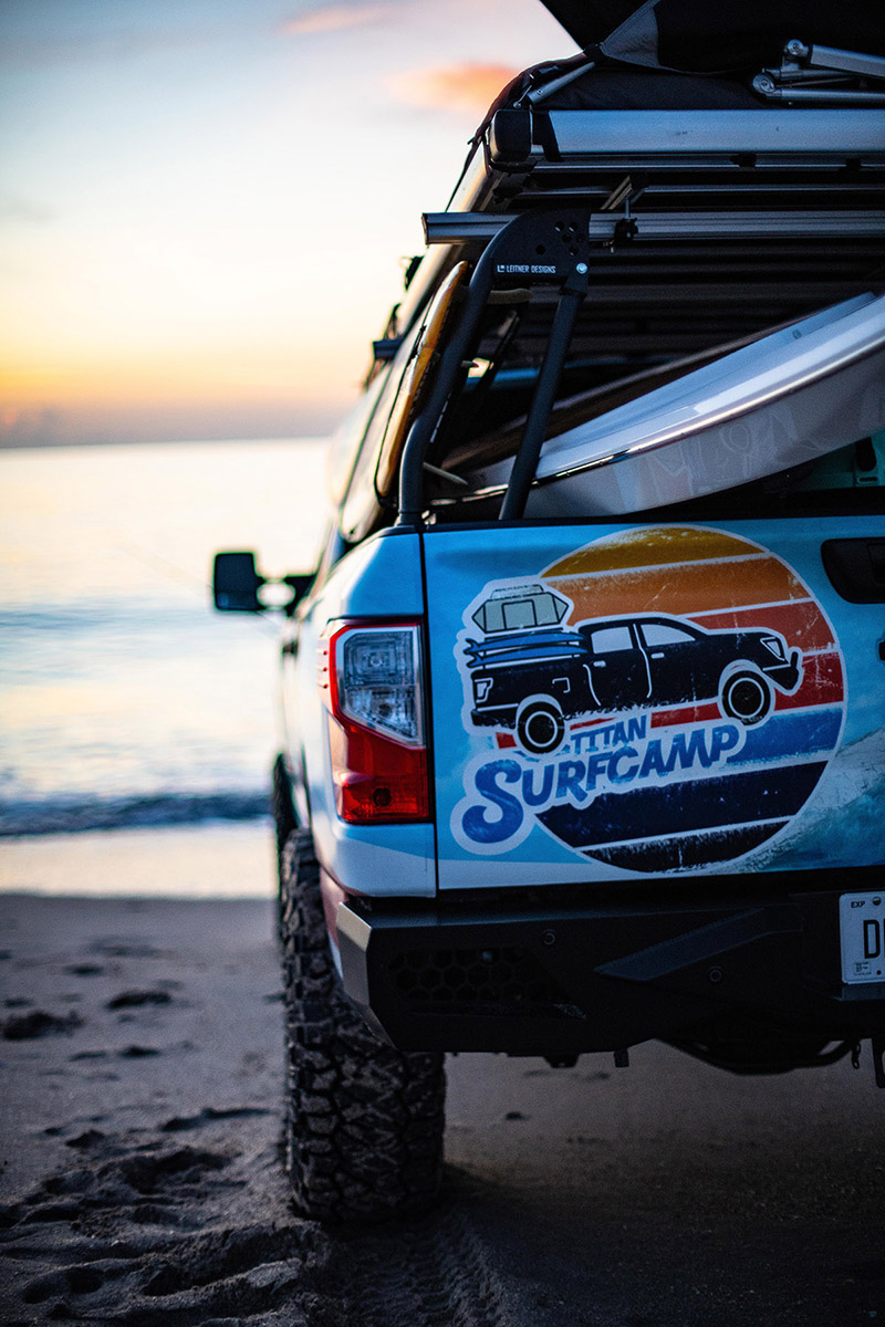NEWS: The Nissan Titan Surfcamp concept was inspired by ...
