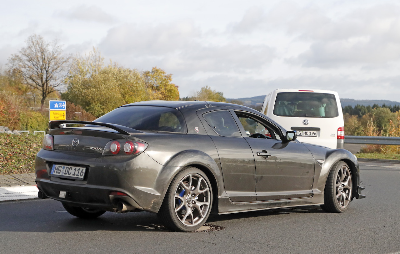 News Mazda Still Testing Rotary Engine In Rx 8 Mule