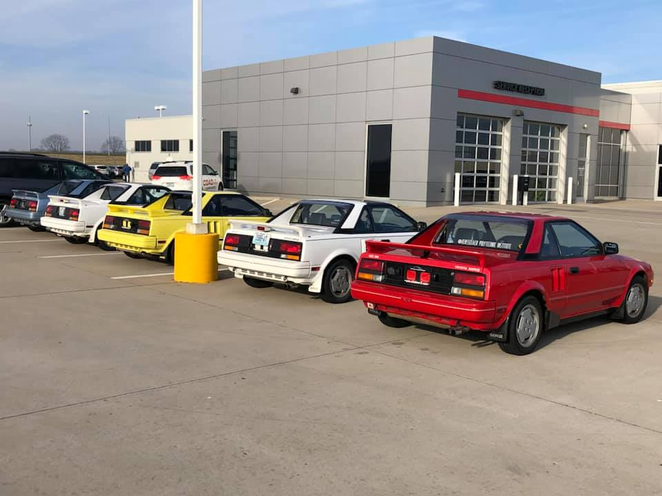 Cape Girardeau Honda >> KIDNEY, ANYONE? Someone just traded in their entire Toyota MR2 collection | Japanese Nostalgic Car