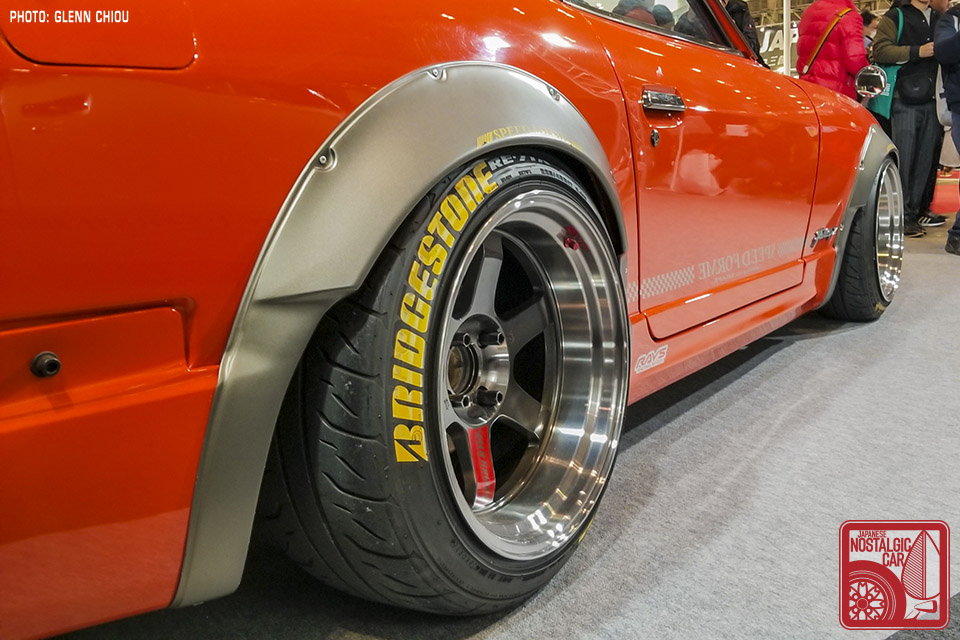 Tokyo Auto Salon: Japanese Restomods   Japanese Nostalgic Car