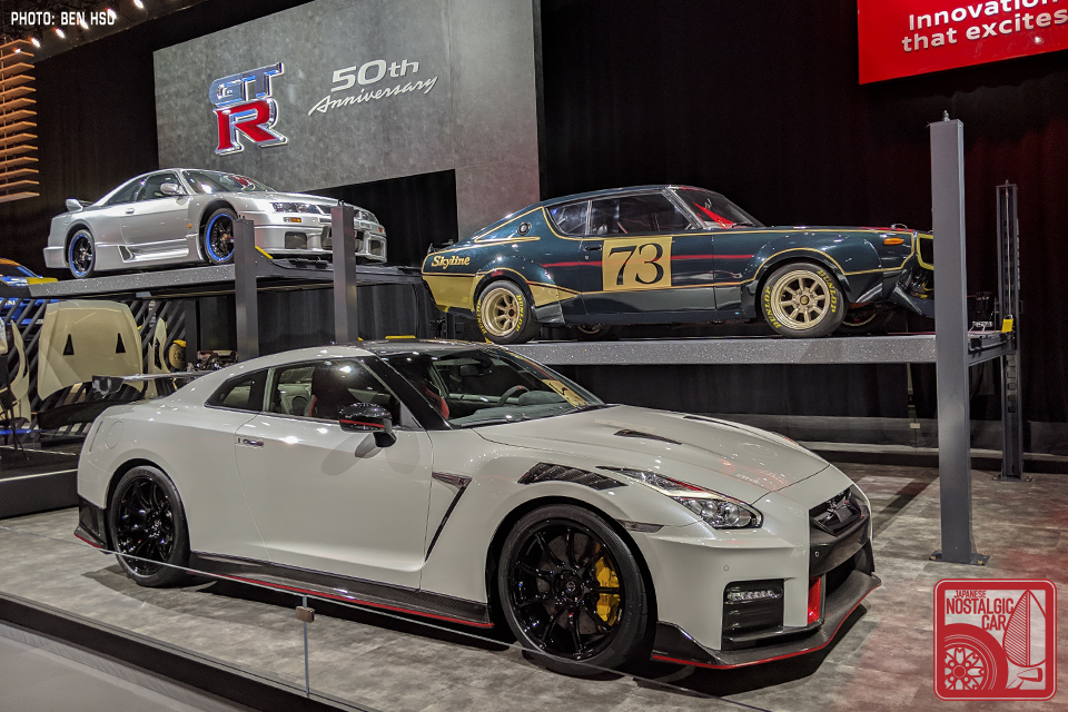 Ny Car Show >> Ny Auto Show Nissan Brings Its Gt R Crown Jewels To New