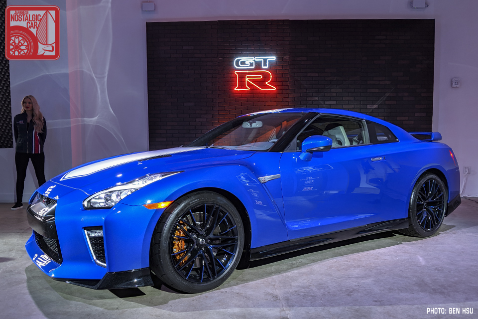 NY Auto Show: Nissan built a one-night shrine to the GT-R ...