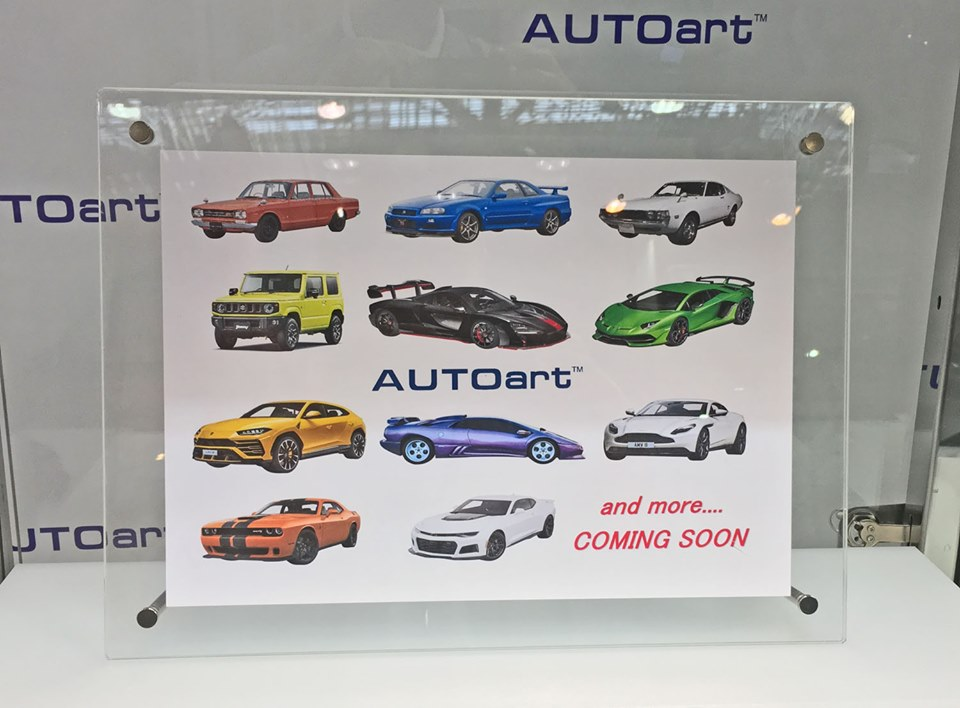 Shizuoka Hobby Show 2020.Minicars Upcoming Autoart 1 18 Releases Japanese