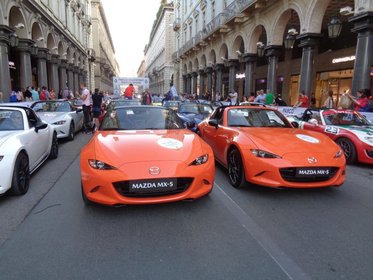 EVENT: Mazda celebrates Roadster's 30th anniversary in Turin