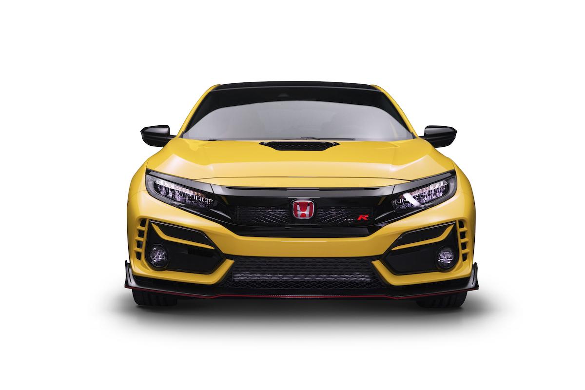 Honda Brings Back Phoenix Yellow For Limited Edition Civic Type R Japanese Nostalgic Car